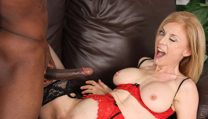 Nina Hartley Interracial Sex Scene