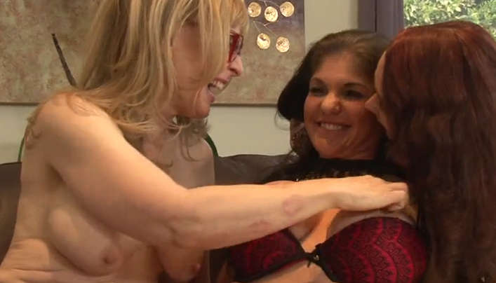 Group Old Lesbian Sex With Porn Star Nina Hartley