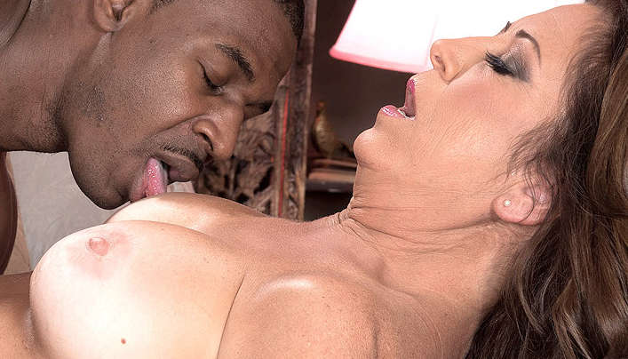 MILF Blacked First Interracial Sex Over 50!