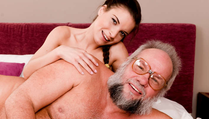 Bearded Old Man Sex Ft. Anita Bellini