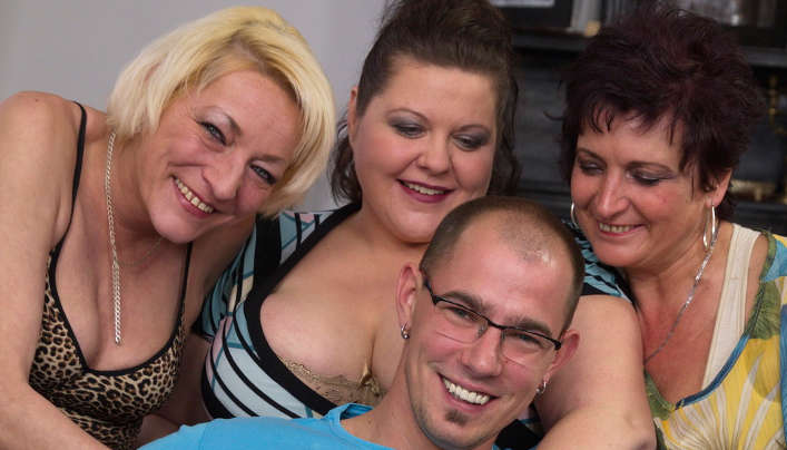 Gerontophile Orgy Three Mature Women