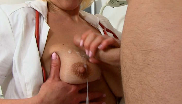 Mom Milks Cock Of Young Sperm Donor