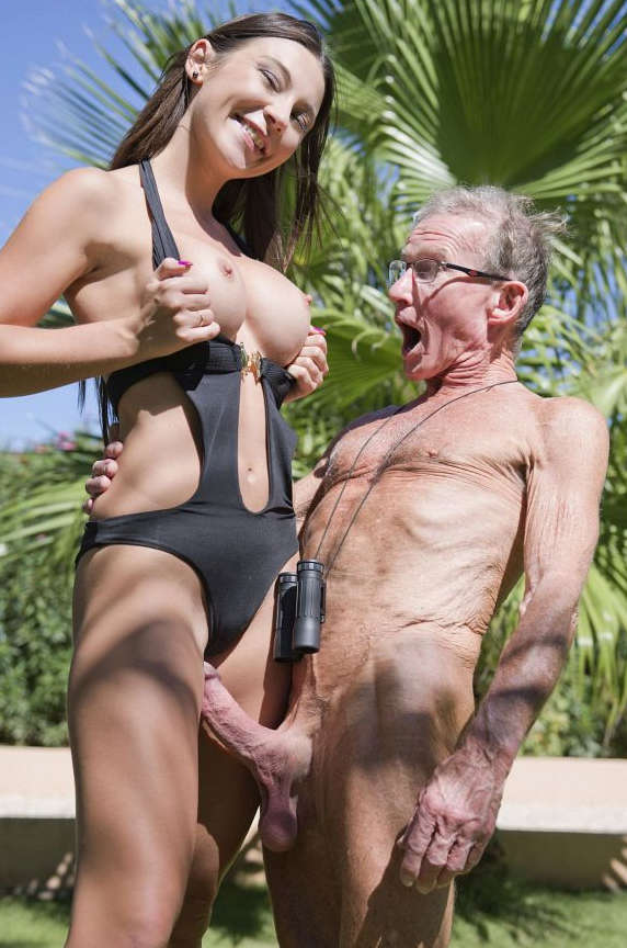 Porno elderly sex with girls