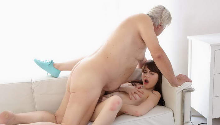 Men sex porn old with