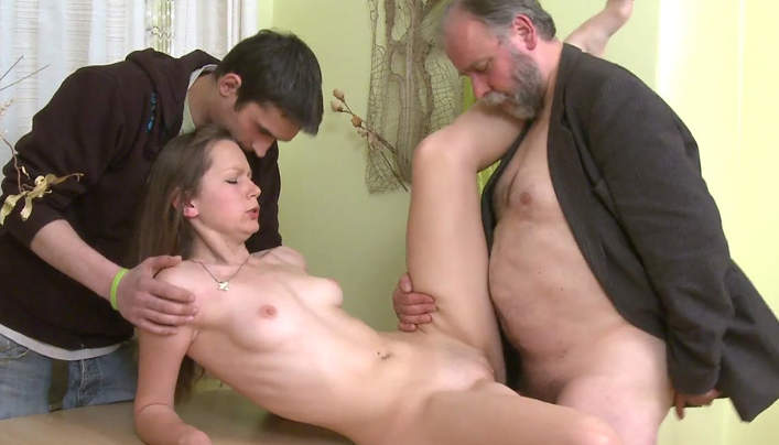 CzechHornyDads – He could be her grandpa