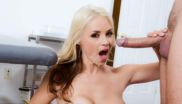 Sarah Vandella Deepthroat Sex At The Brazzers
