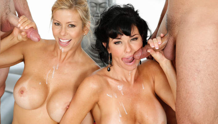 Busty MILFs Fantasy Massage Veronica & Alexis