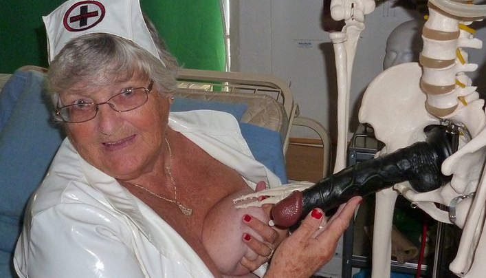 Grandma Fun Porn : 77 Years Old  Libby