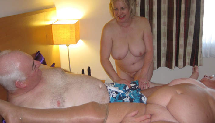 British Grandma Amateur Sex Session