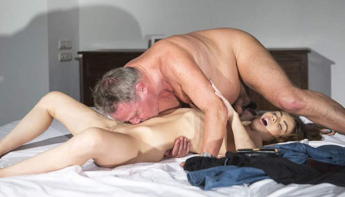 Elle Rose Old Man Sex  : Oldje 585