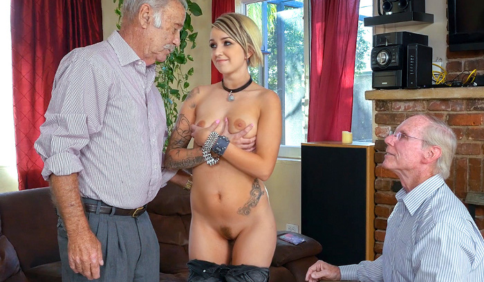 Presley Carter old men porn