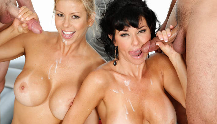 MILF Fantasy Massage Veronica Avluv and Alexis Fawx