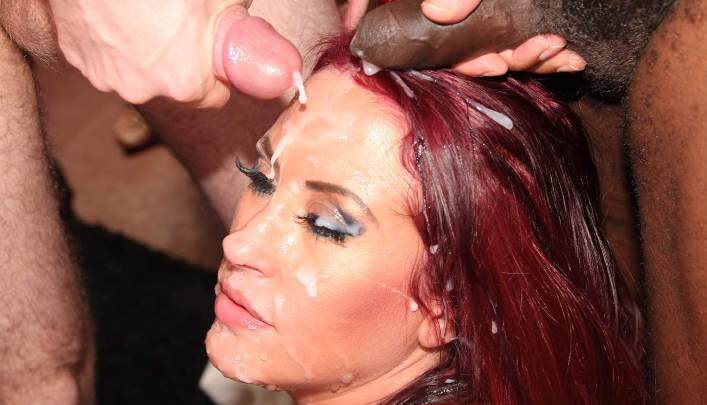 Tyla Moore Splat Bukkake : UK Freaky Jizz Party