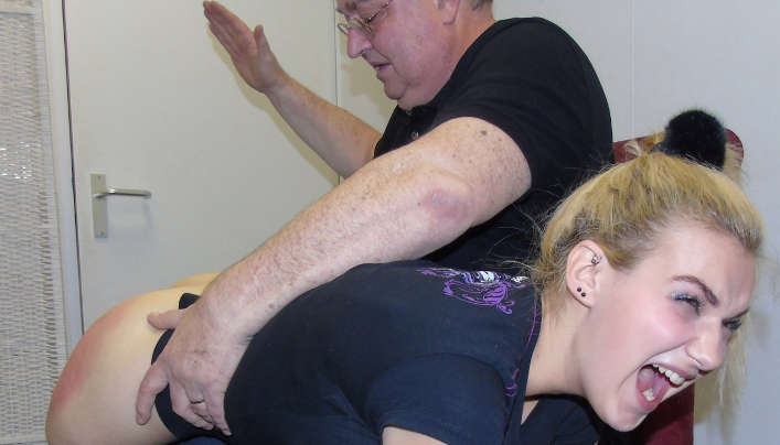 dolly spanked