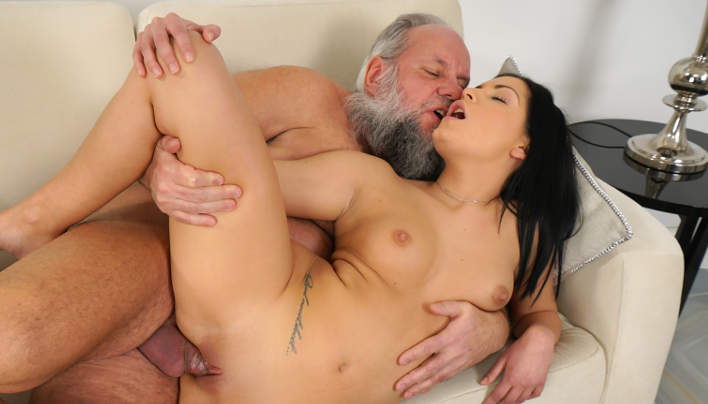 Annie Wolf Old Man Sex : Grandad Sperm For Teen Girl