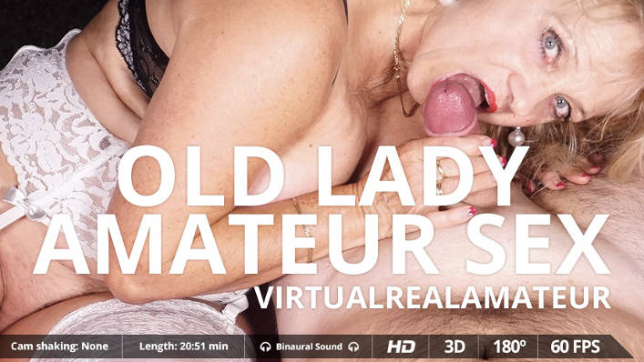Granny VR Sex : Virtual Real Amateur Porn