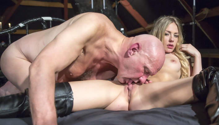 Angie Lee Old Man Sex : Baldhead Hugo At Oldje 604