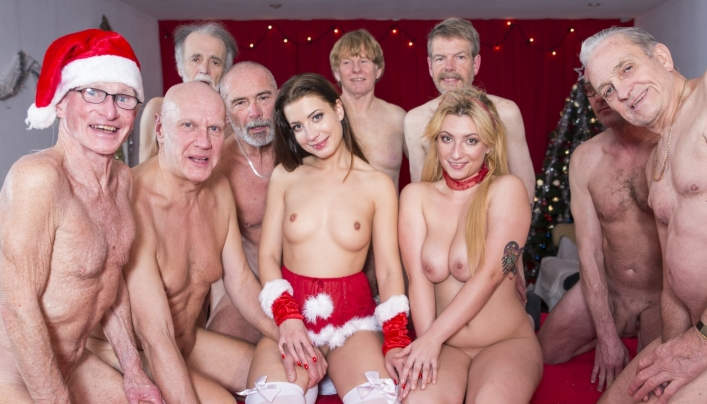 Old Men Teen Girls Big Gangbang : Oldje 638
